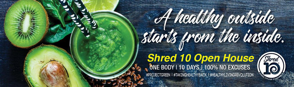 Shred 10 Healthy Eating Open House - Orem, Utah