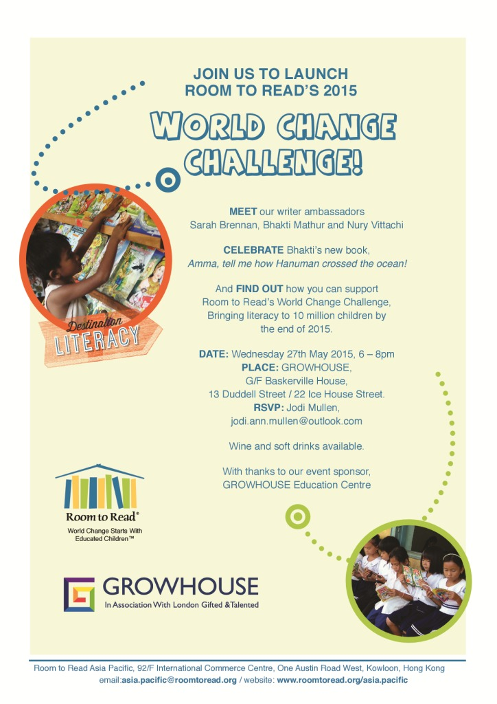 RtR HK Chapter World Change Challenge 2015
