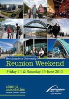 Northumbria Alumni Reunion Weekend