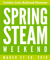 Spring Steam Weekend - Online ticketing has ended....