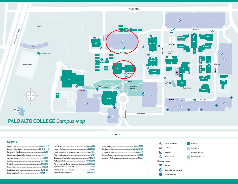 Palo Alto Map