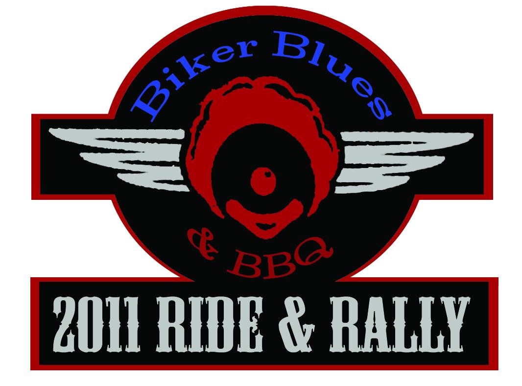 Biker Blues & BBQ 2011 Ride & Rally Patch