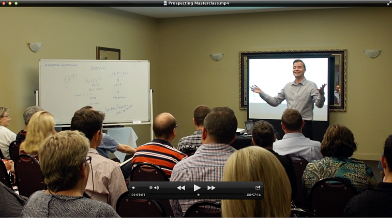 Prospecting Masterclass - 2 Hour Bonus Video Training