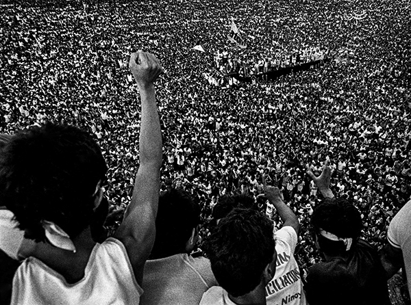 Benigno Aquino Memorial, Luneta Park, Manila, 1984