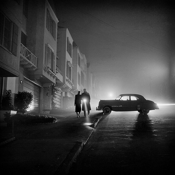 Foggy Night, Lands End, San Francisco, CA, 1953 © Fred Lyon, Courtesy Peter Fetterman Gallery