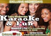 Karaoke Wednesdays @ Maverick's Flat