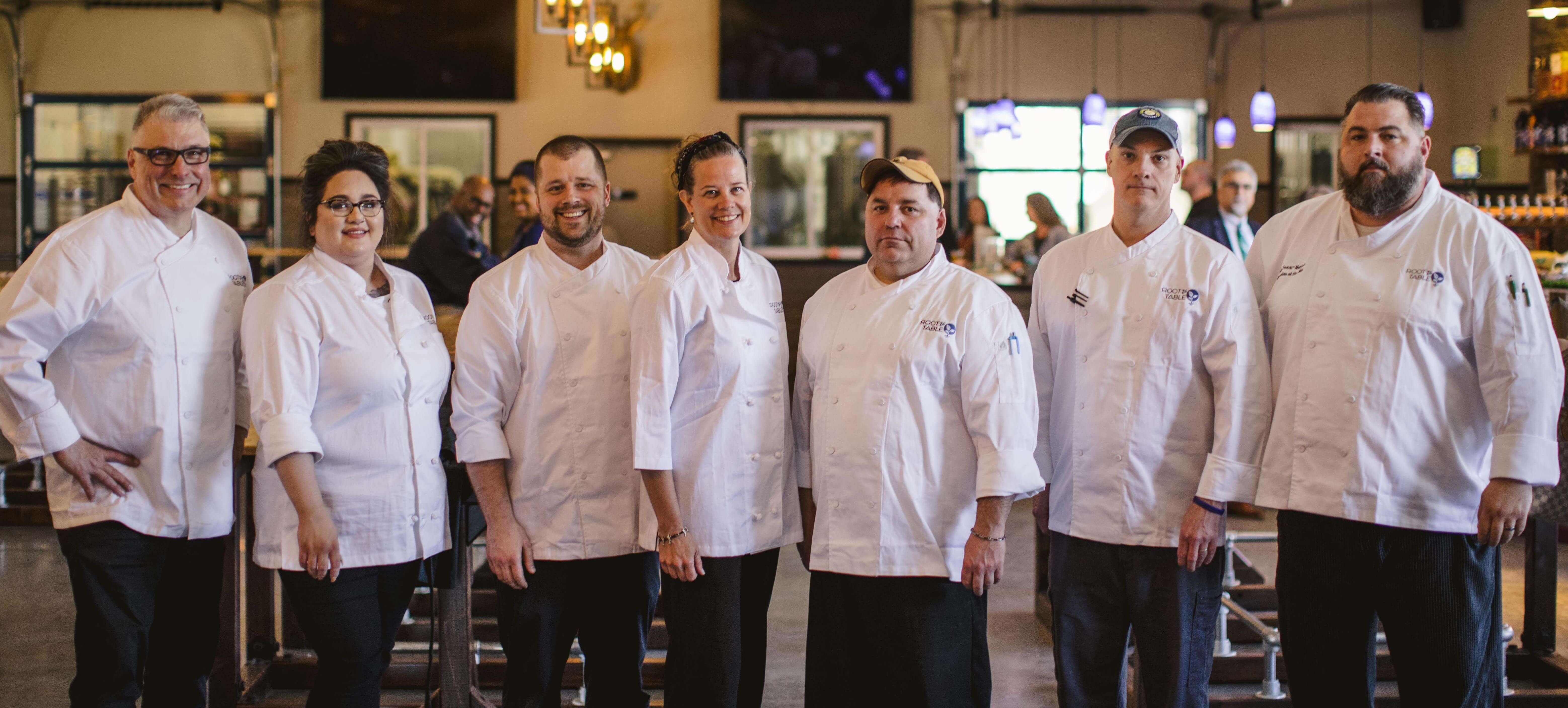 Taste of Blue Ridge Top Chefs at BRRT Launch Party