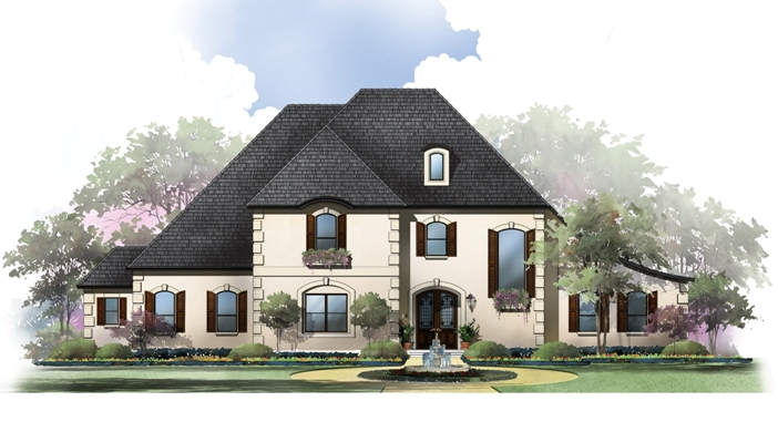 Thistlewood Manor Rendering