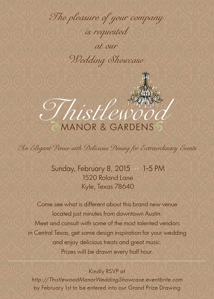 Venue Open House Invitation