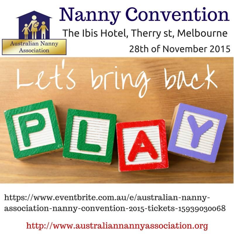 ANA Nanny Convention 2015