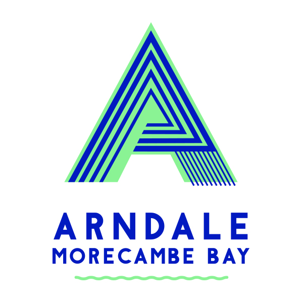 The logo for Morecambe Arndale Shopping Centre