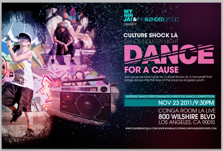 Culture Shock LA Dance Industry Night