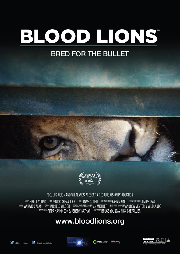 Blood Lions Poster