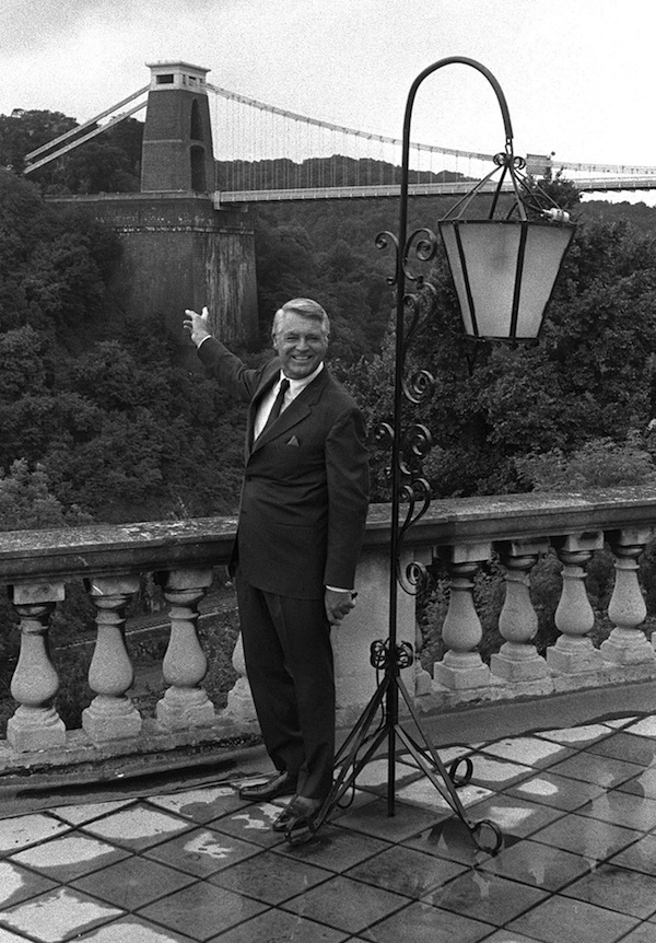 Cary Grant at the Grant Spa Hotel, credit: Bristol Evening Post