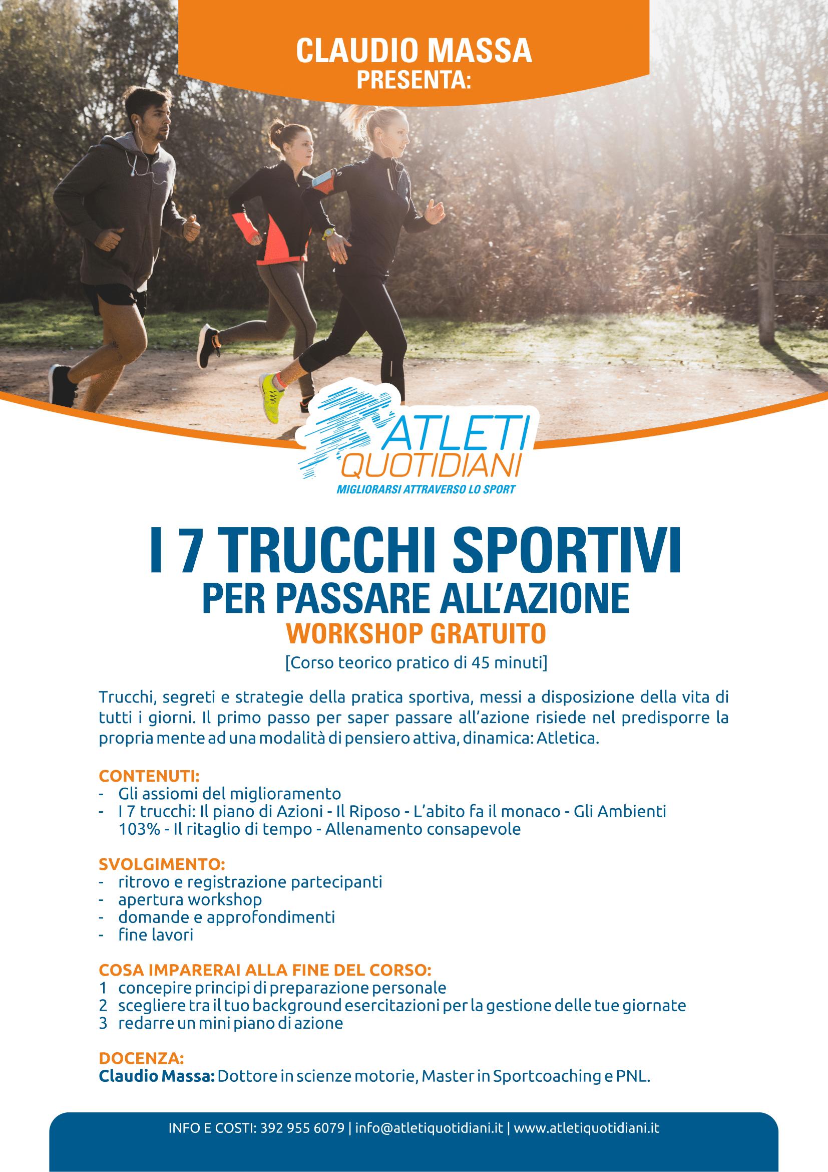Atleti Quotidiani 7 trucchi