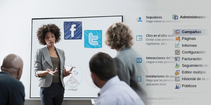 Curso de Social Ads Publicidad en facebook y Twitter