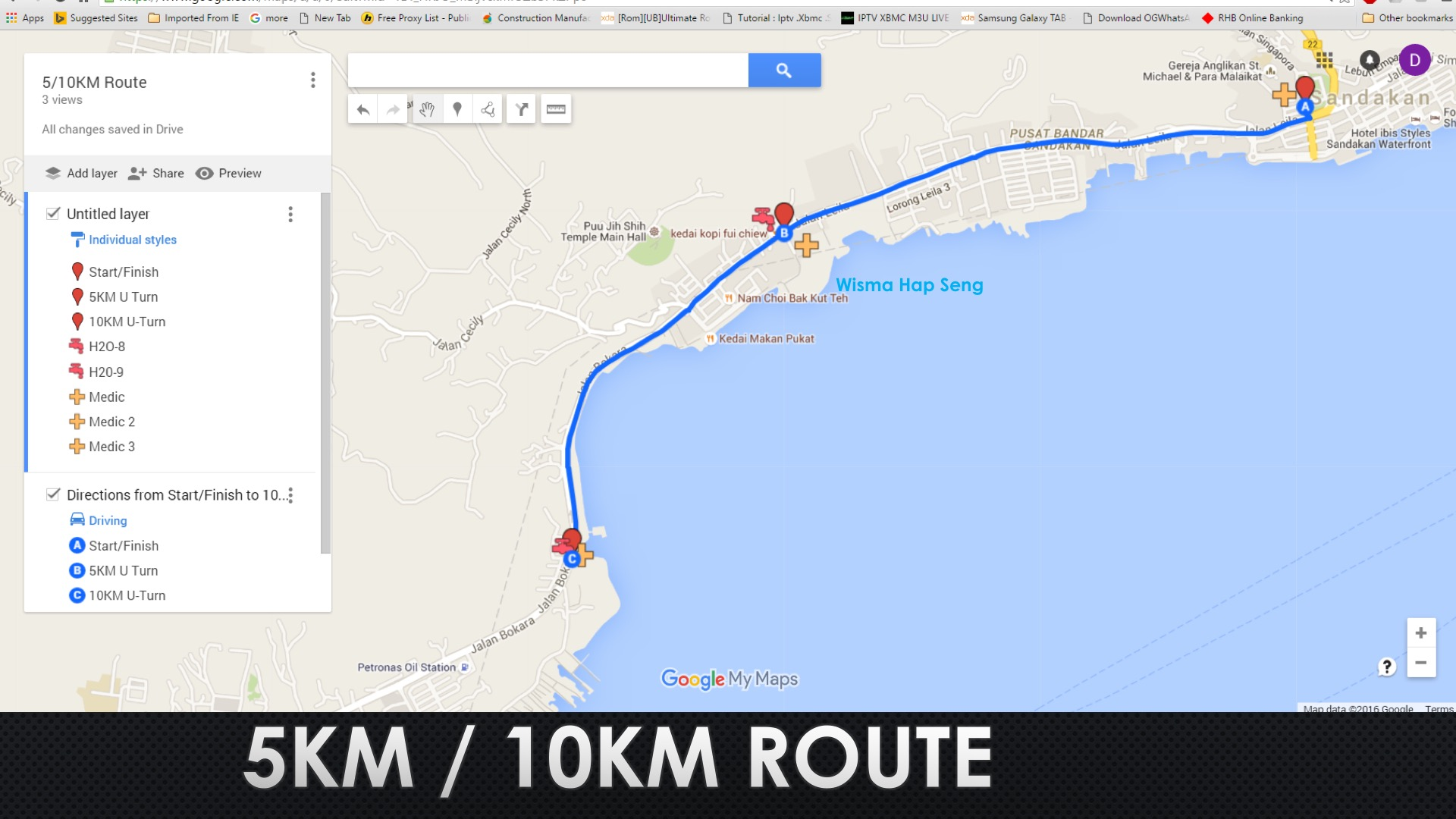 5-10K Route