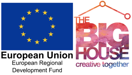 European Union and Big House logo