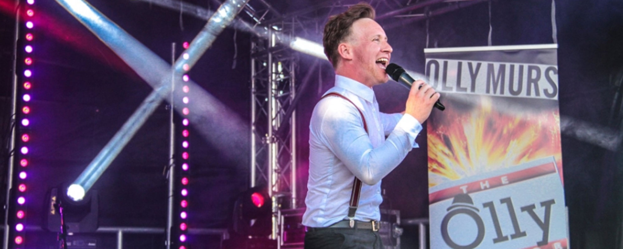 Olly Murs tribute at Party in the Park 2018