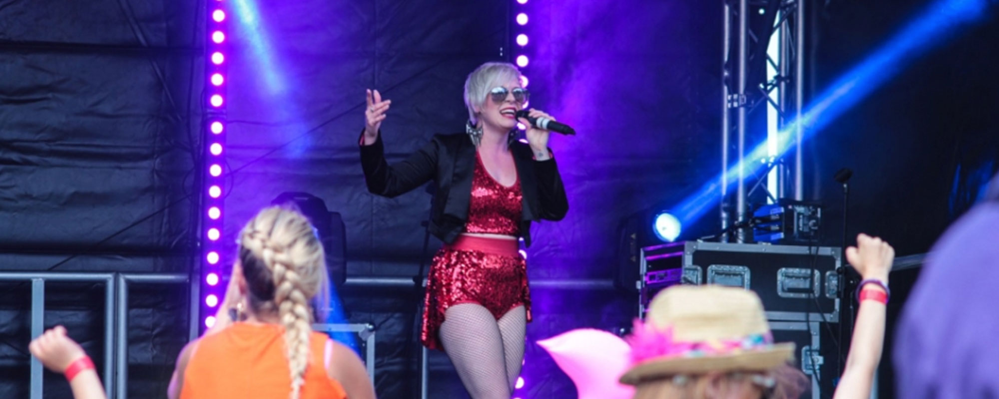 Pink tribute at Party in the Park 2018