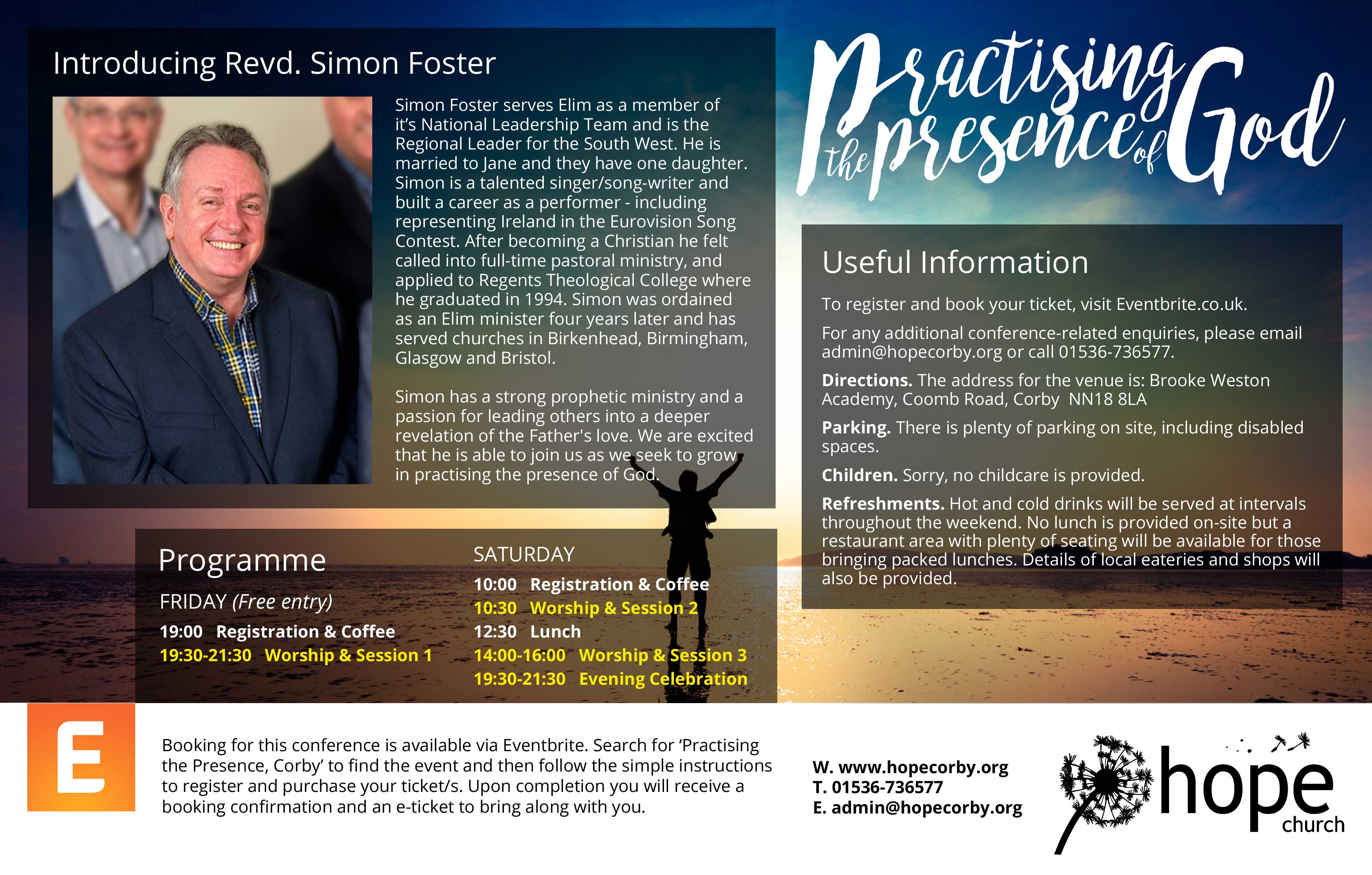 Practising the Presence - information