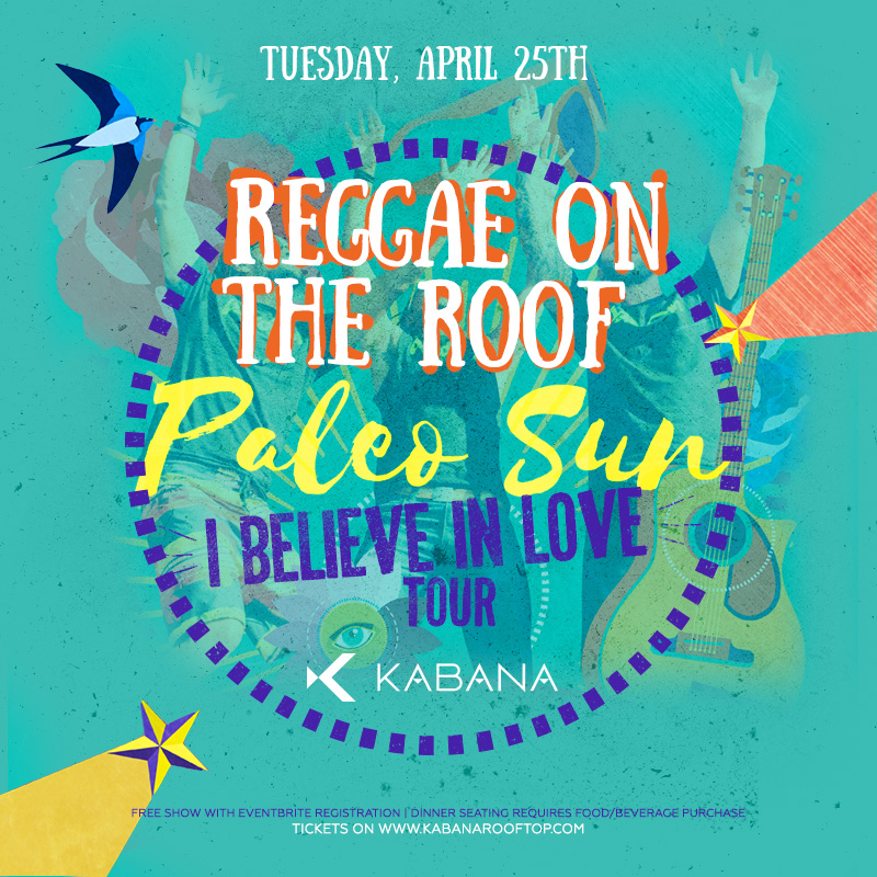 Paleo Sun live at Kabana Rooftop