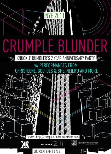 crumple blunder
