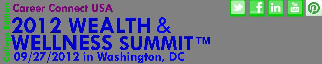 Wealth & Wellness Summit Header