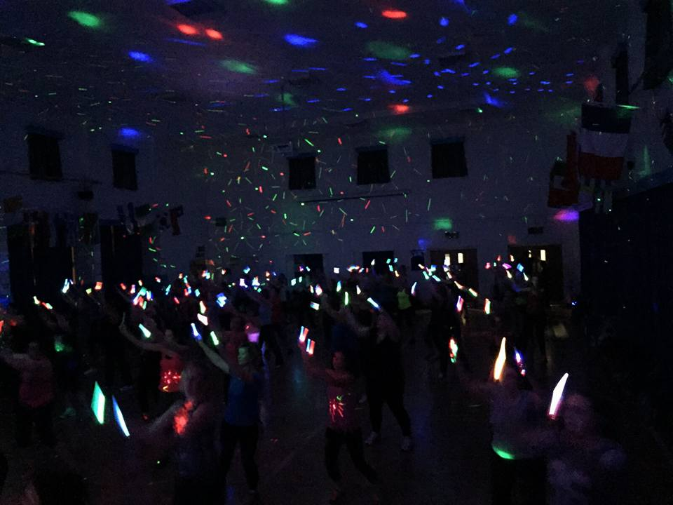 Busy Clubbercise Class every week in Ashby