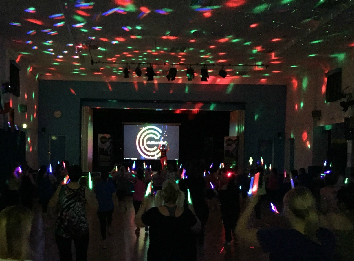 Clubbercise Ashby in Ivanhoe College hall