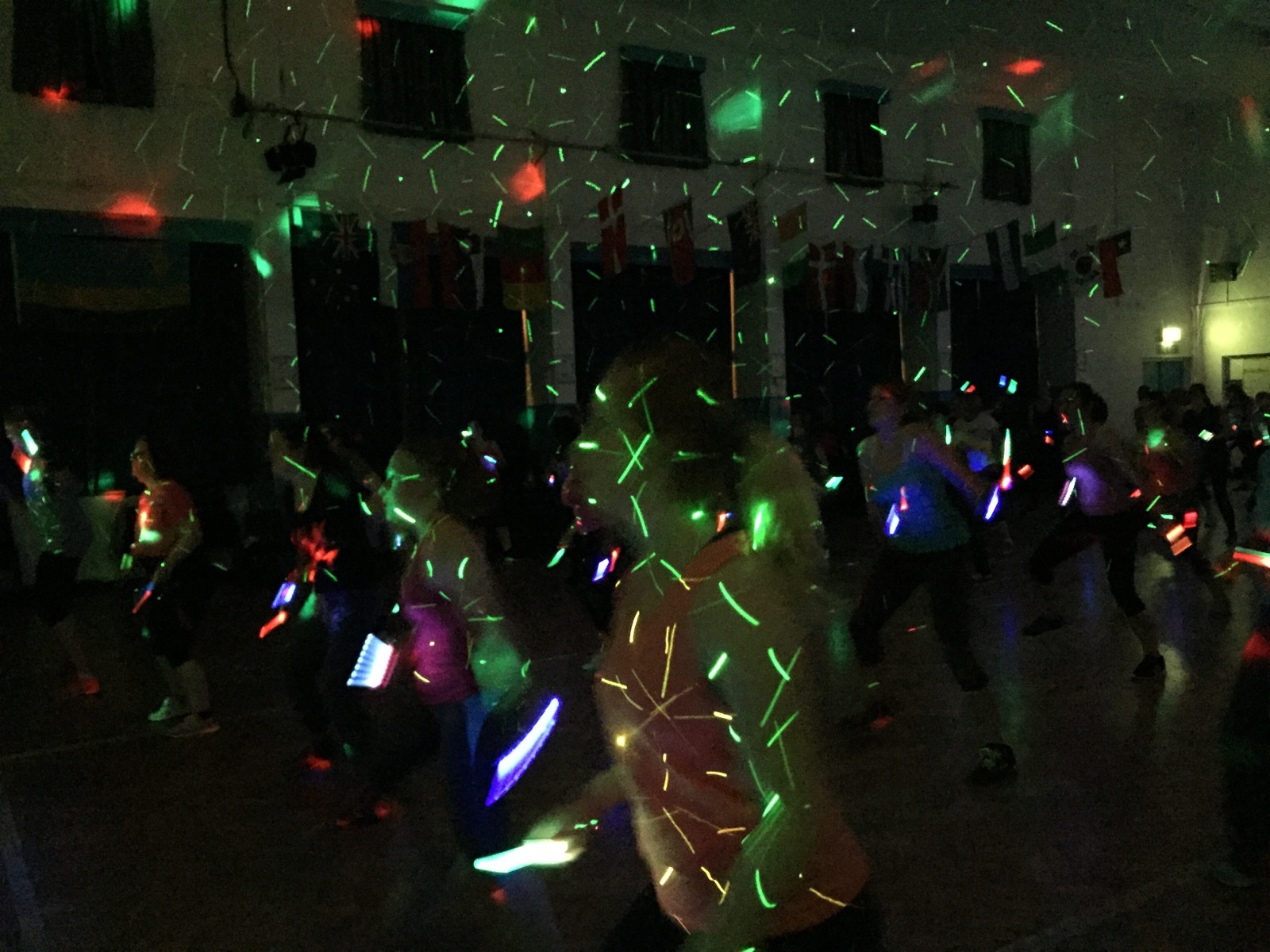 Clubbercise in Ashby every Tuesday at the Ivanhoe College