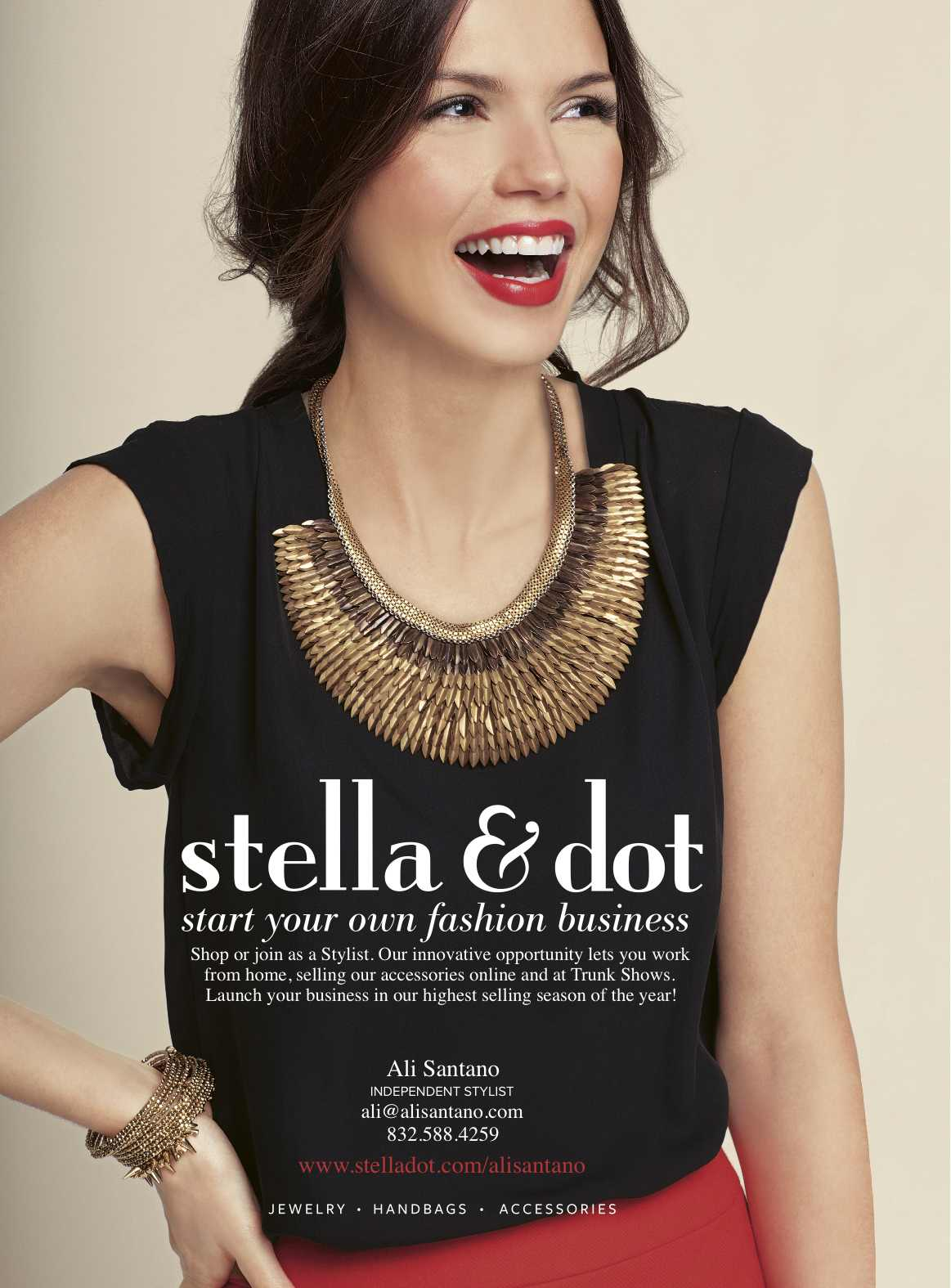 Meet stella dot in houston texas with director ali for Stella and dot san francisco