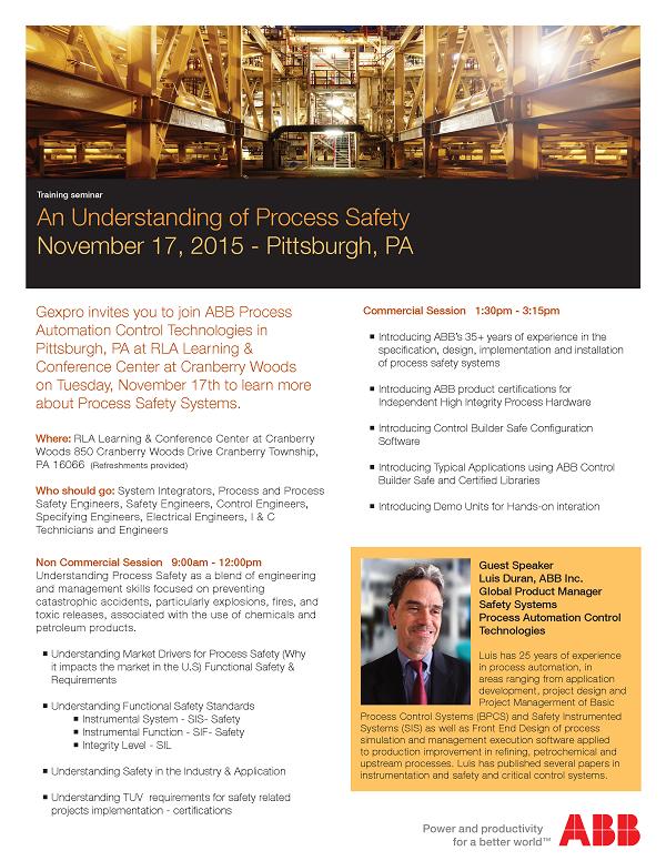 ABB Process Safety Seminar