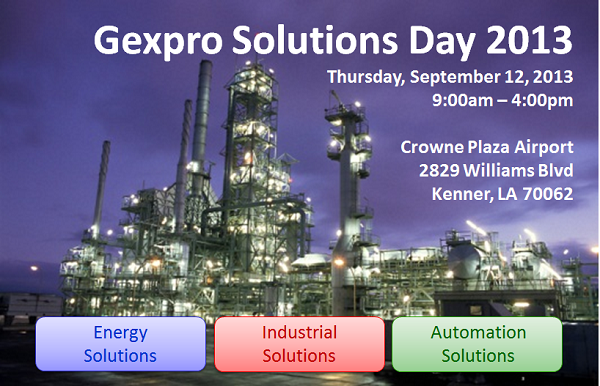 Gexpro Solutions Day 2013