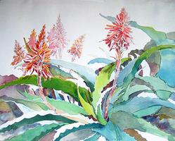 Garden of Earthly Delights Watercolors by Barbara von Haunalter