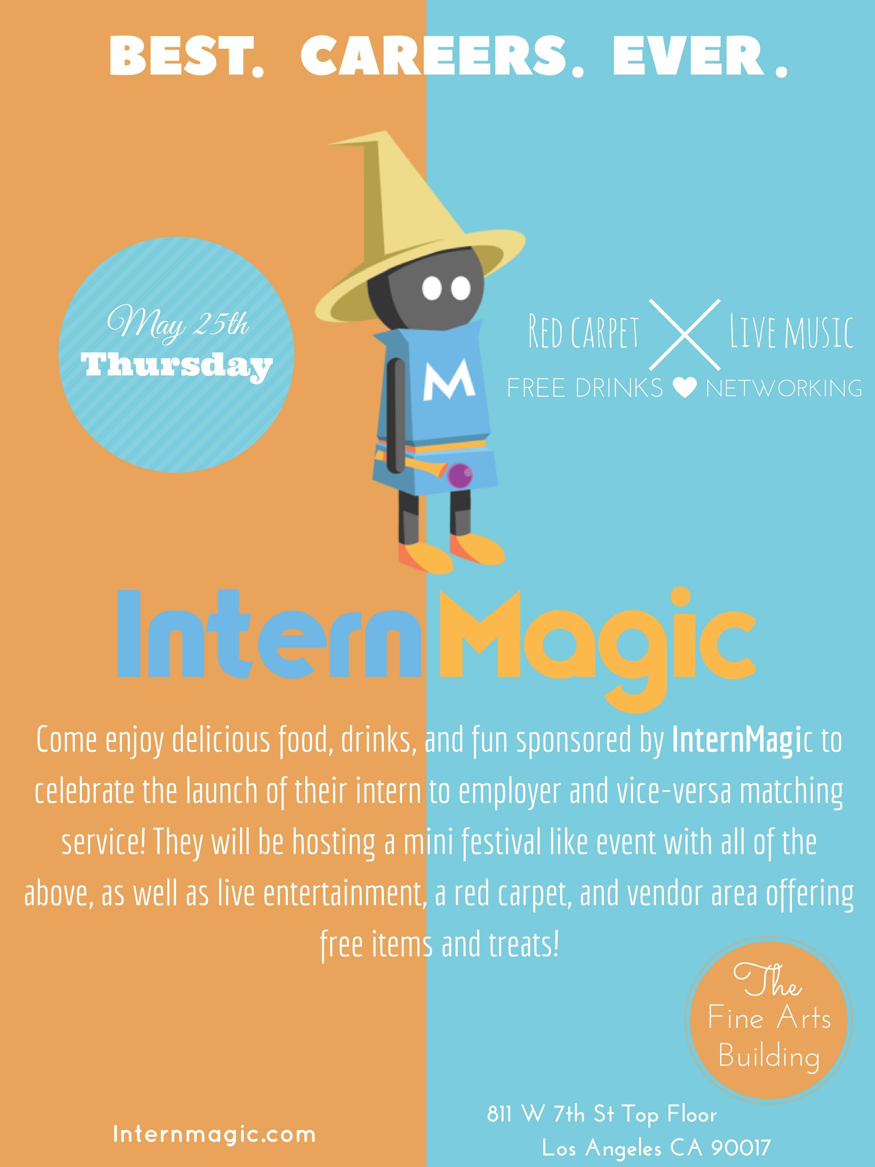 InternMagic Event Flyer