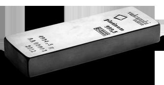 400oz Platinum Bar