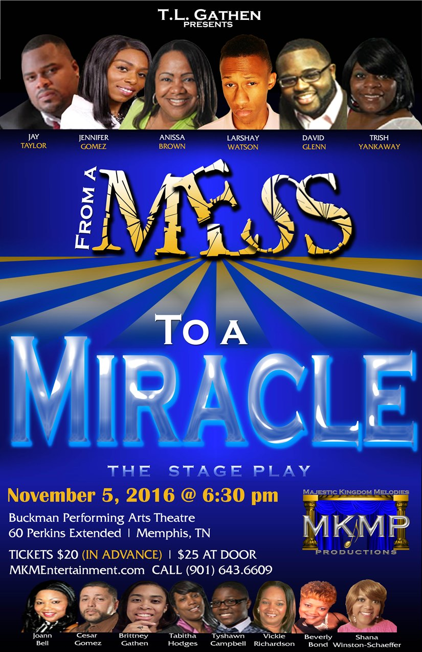 Mess To Miracle Flyer - Memphis