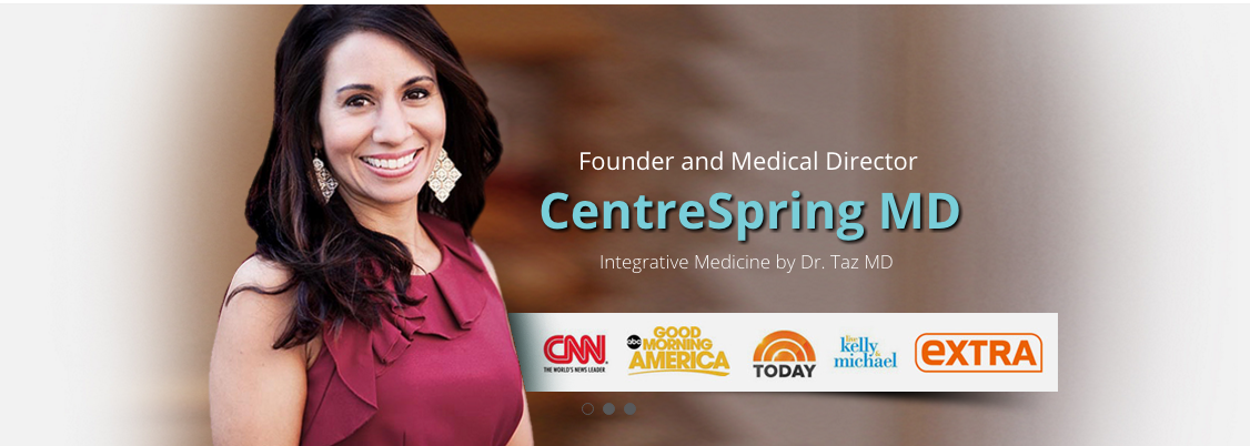 An Evening with Dr. Taz MD, Physician & Integrative Health Expert