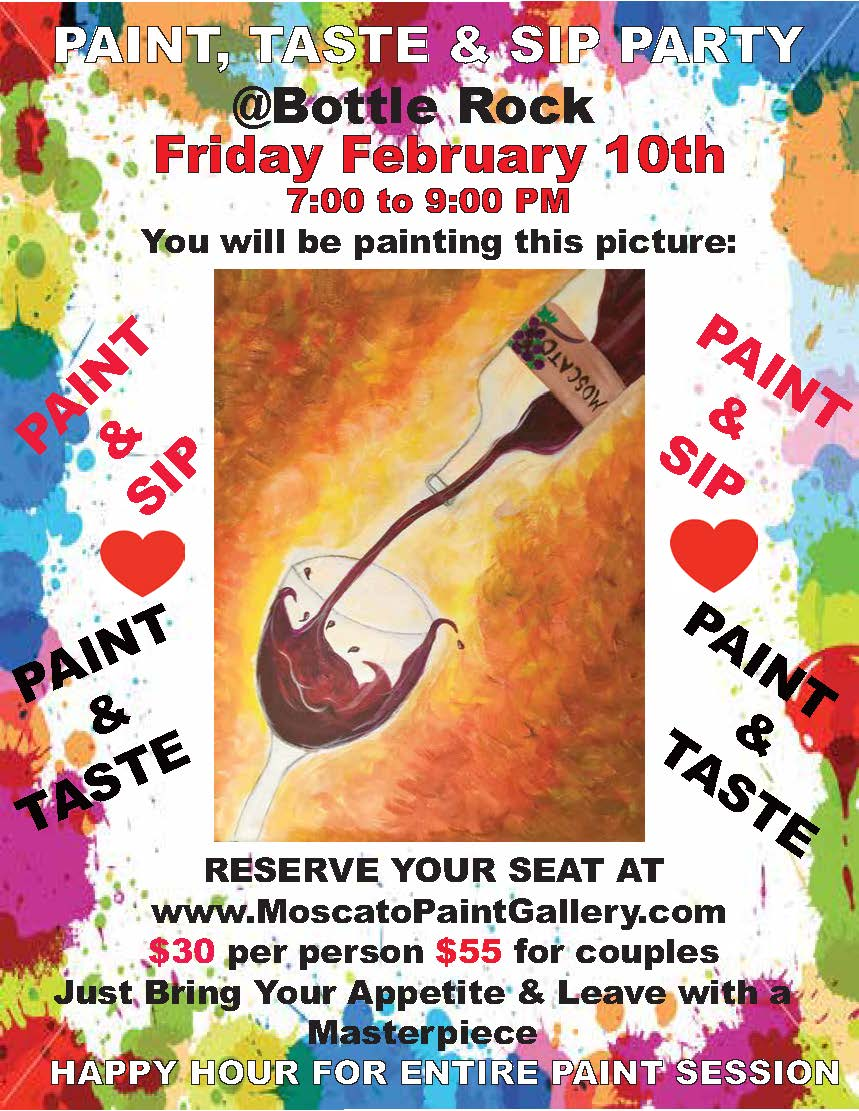 paint and sip flyer BR