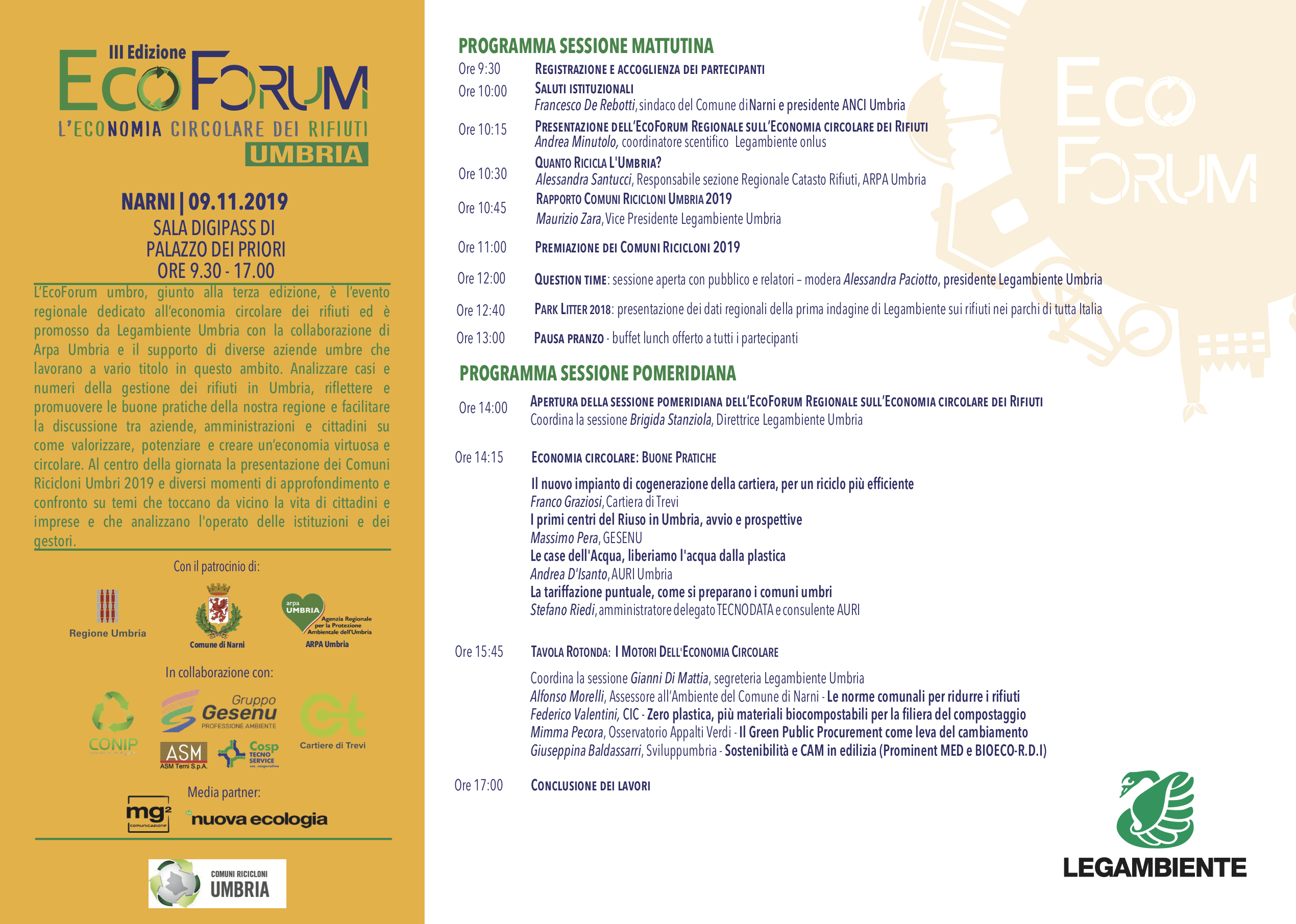 Programma EcoForum 2019
