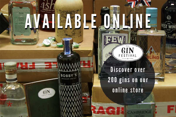 Gins Available Online at www.ginfestival.com/shop