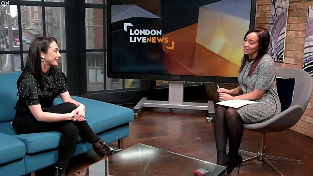 CLIENT: Raya Clark | London Live TV | January 2018