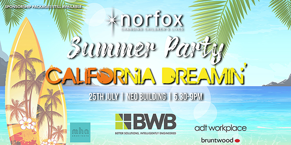 Norfox Summer Party Poster