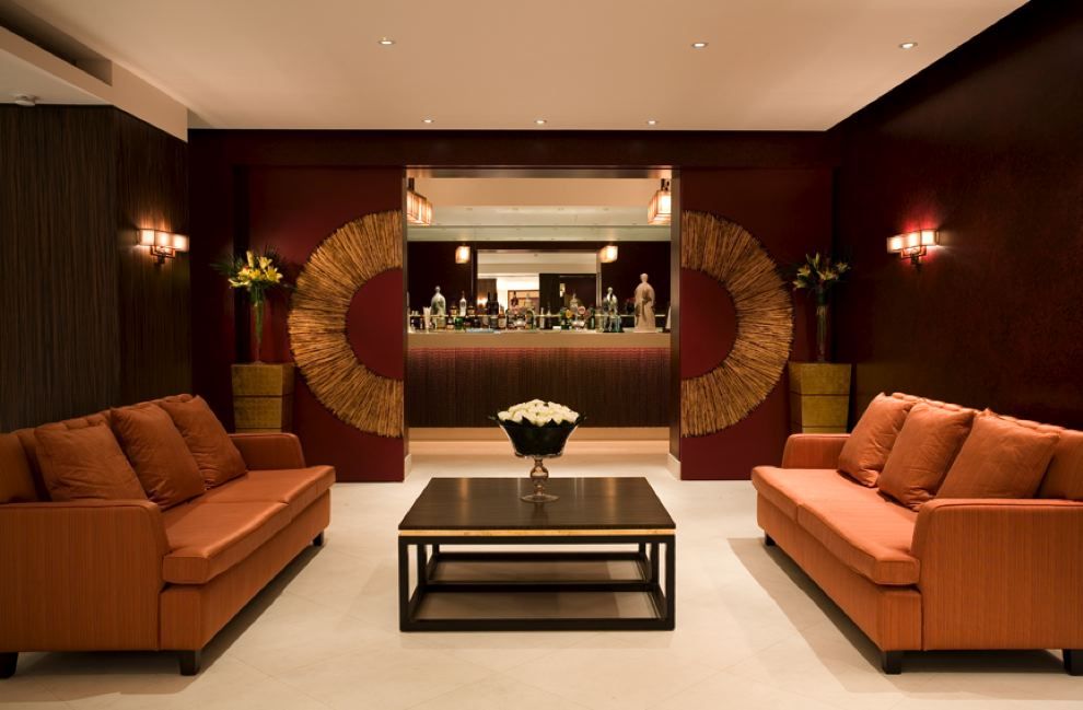 hotel seating area