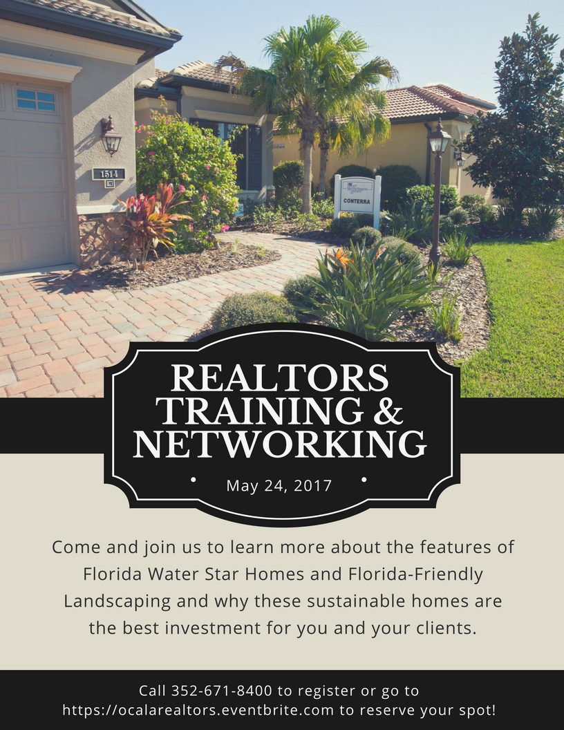 Realtors training flyer