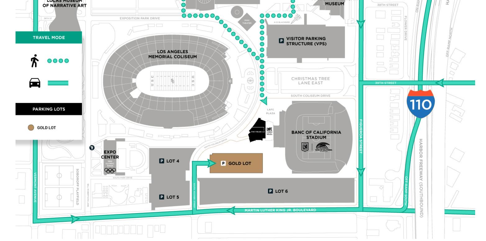 LAFC Stadium Parking