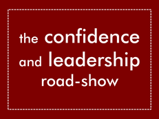 The Confidence and Leadership Roadshow logo