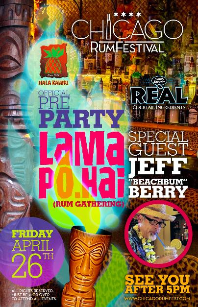 Chicago Rum Fest- Official Pre Party