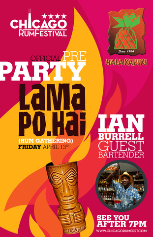 Hala Kahiki - Chicago Rum Fest Pre Party